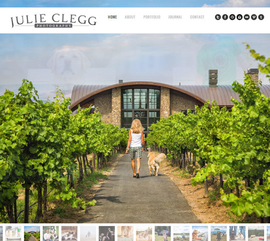 Julie Clegg Launches a Transformative Website