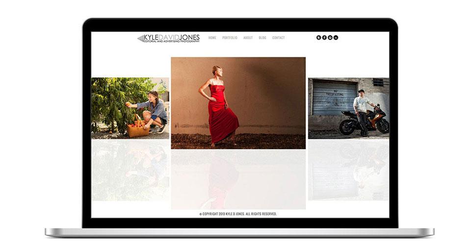 Kyle David Jones Website / Logo